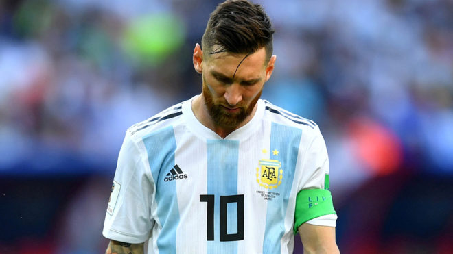 best service bac0d 0c762 World Cup 2018: Leo Messi, 13 years of nightmares | MARCA in ...