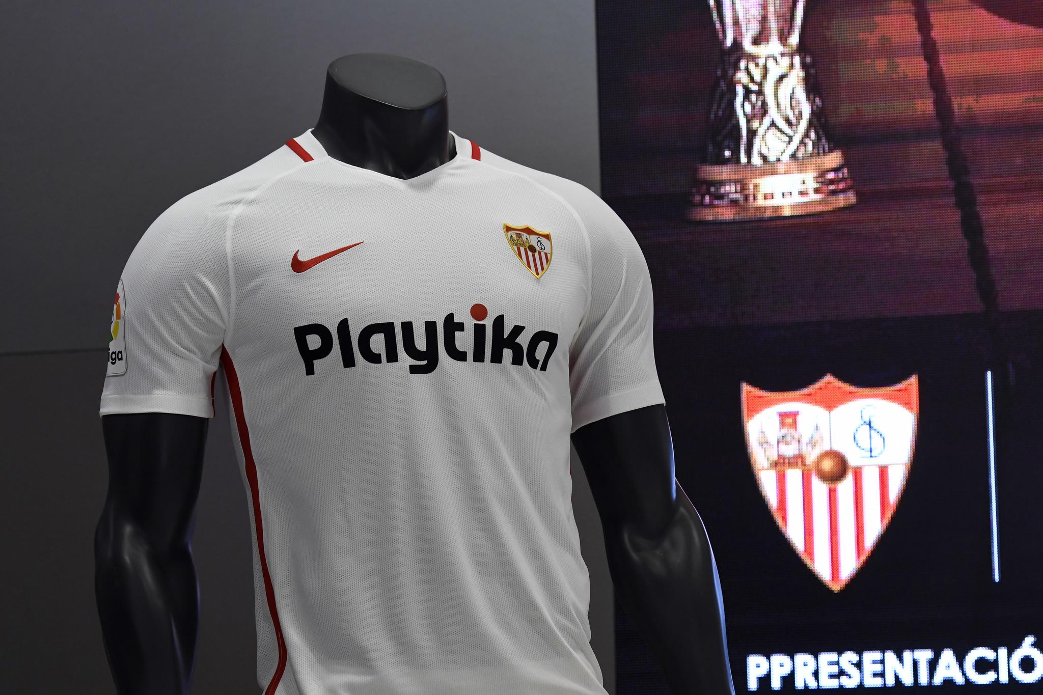 Camiseta Sevilla FC modelos