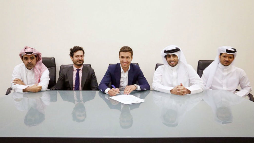 Gabi already signed his new contract with Al-Sadd.