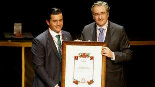 Jorge Guerrero, presidente de la Federación de Peñas Sportinguistas...
