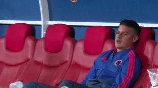 James Rodriguez left heartbroken by Colombia elimination