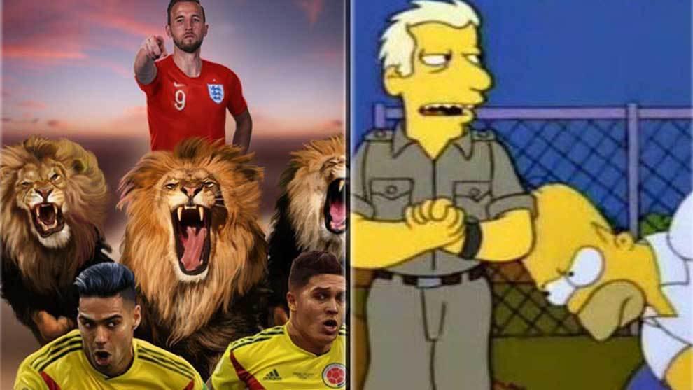El triunfo por penaltis de Inglaterra ante Colombia, con muchas...