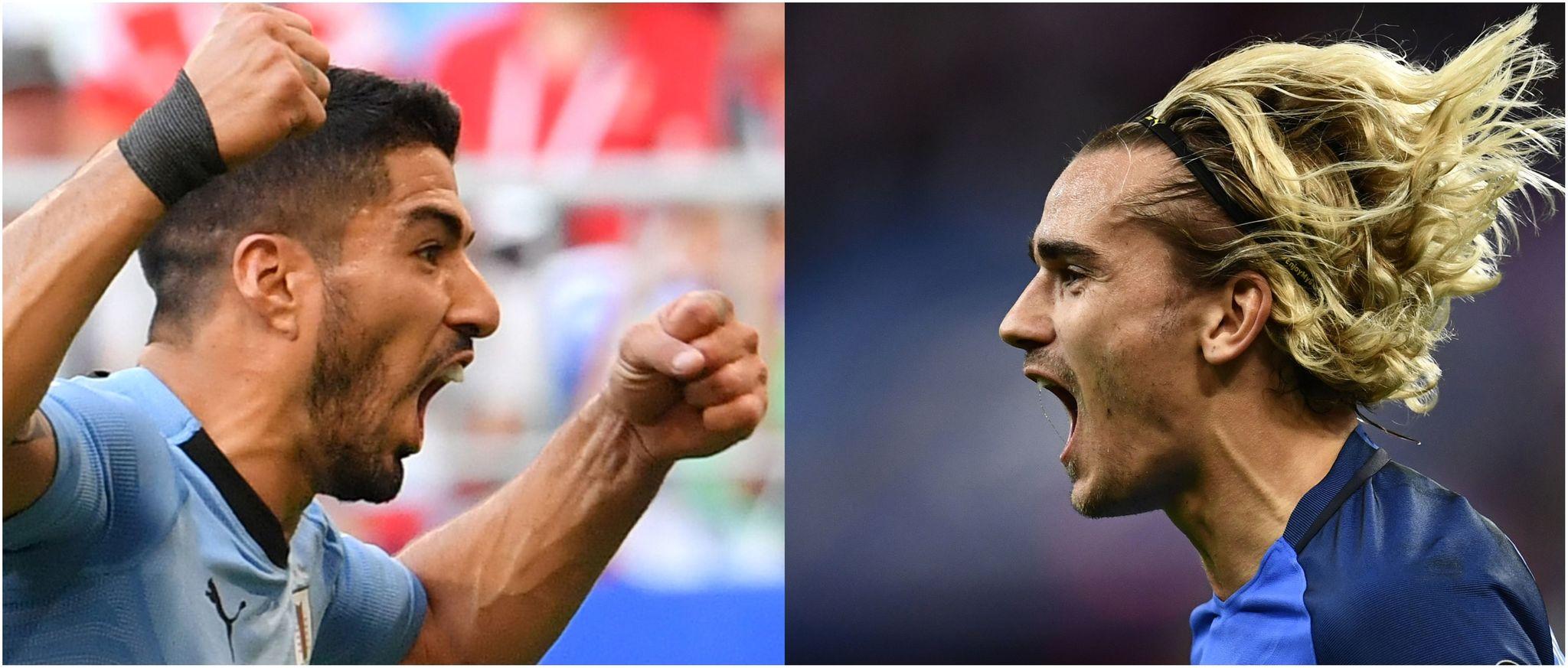 Luis Suárez y Griezmann