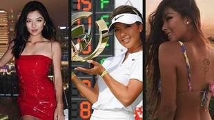 Lily M. debutó como golfista profesional en diciembre de 2017 y acaba...