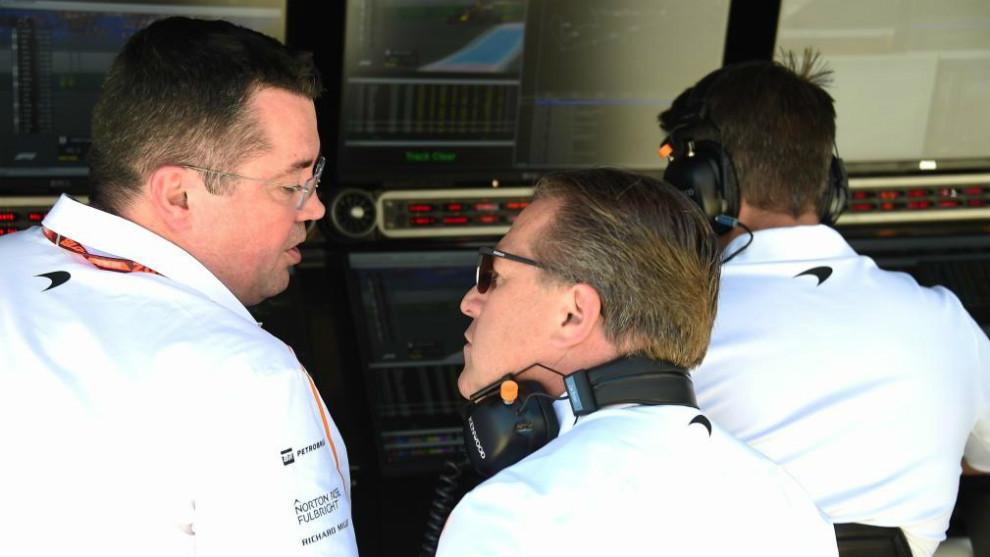 De Ferran releva a Boullier en la dirección deportiva de McLaren
