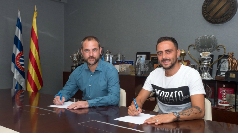 Sergio García firma su extensión contractual junto a Óscar...