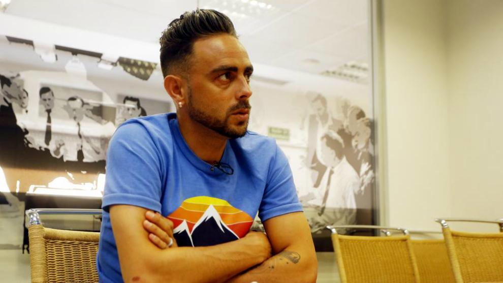 Sergio García, en una entrevista reciente en MARCA.