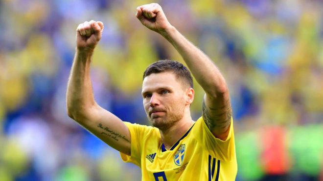 Berg, tras meterse en cuartos de final con Suecia.