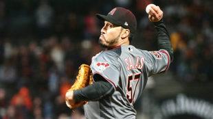 Fernando Salas llegó a la MLB, procedente de los Saraperos de...