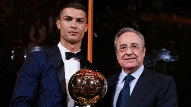 Cristiano Ronaldo and Florentino Perez