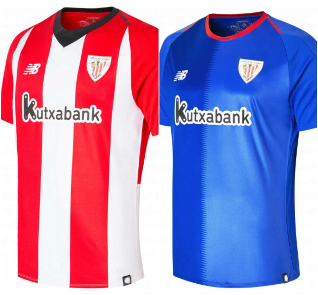 Primera y segunda equipación del Athletic de Bilbao temporada 2018-2019 df7dad64e79b3