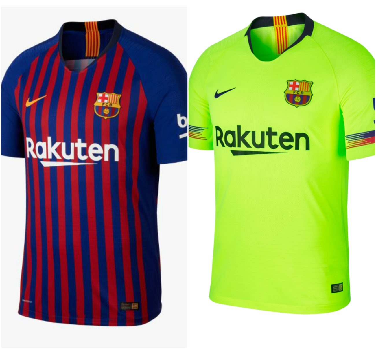 28ae3c0bec161 Primera y segunda equipación del FC Barcelona temporada 2018-2019
