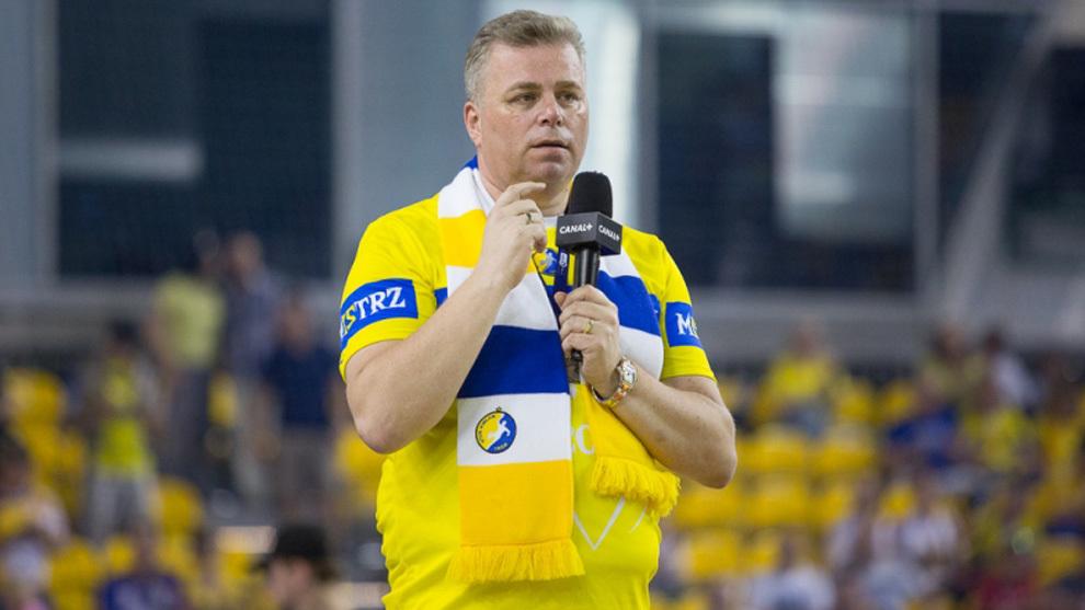 El presidente del Kielce, Bertus Servaas