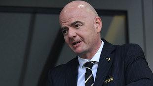 La FIFA, dirigida por Gianni Infantino, ha arremetido con dureza...