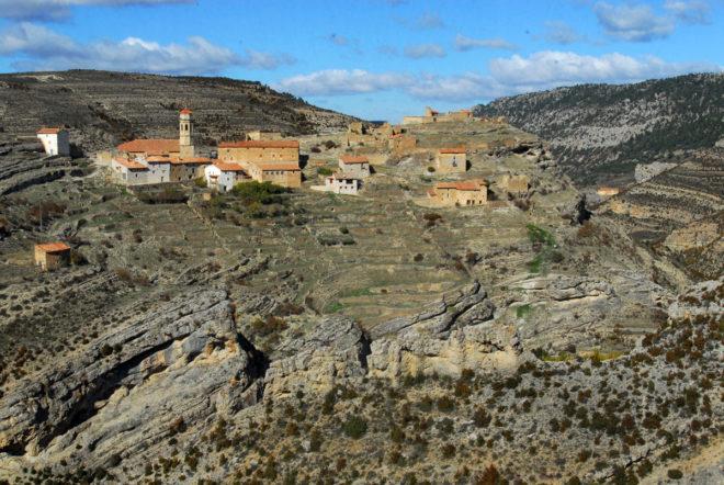 En la Cañada de Benatanduz, los pueblos están casi abandonados.