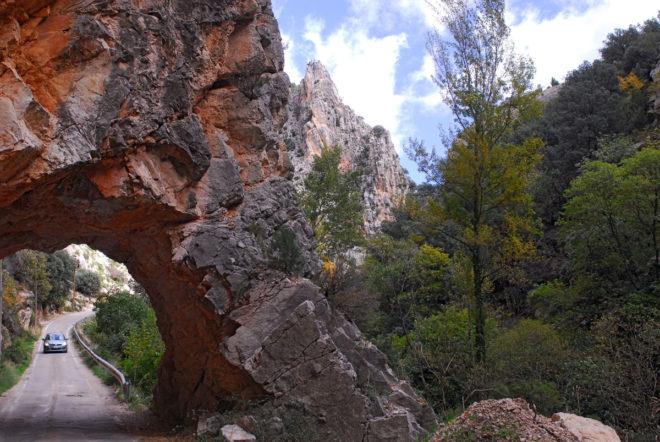 Las carreteras comarcales que discurren paralelas al río Pitarque son...