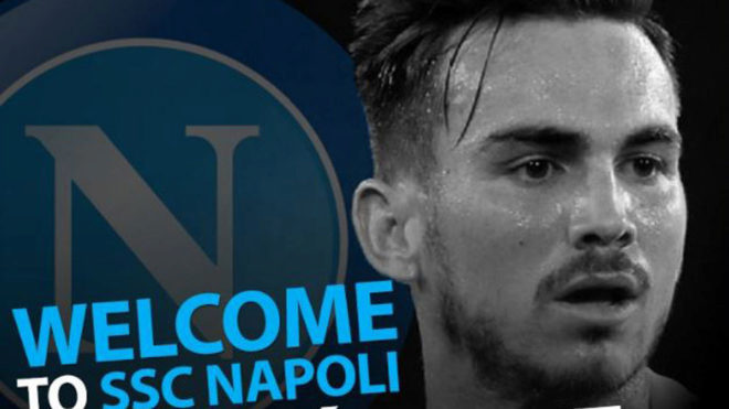 Napoli officially sign Fabian from Real Betis.