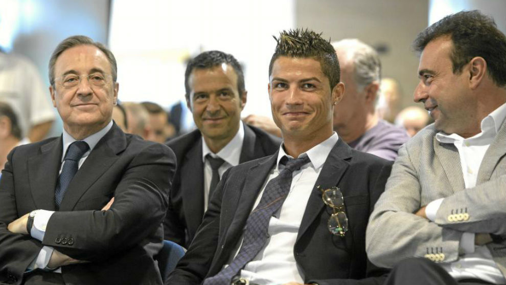Florentino, Mendes, Ronaldo & Sanchez