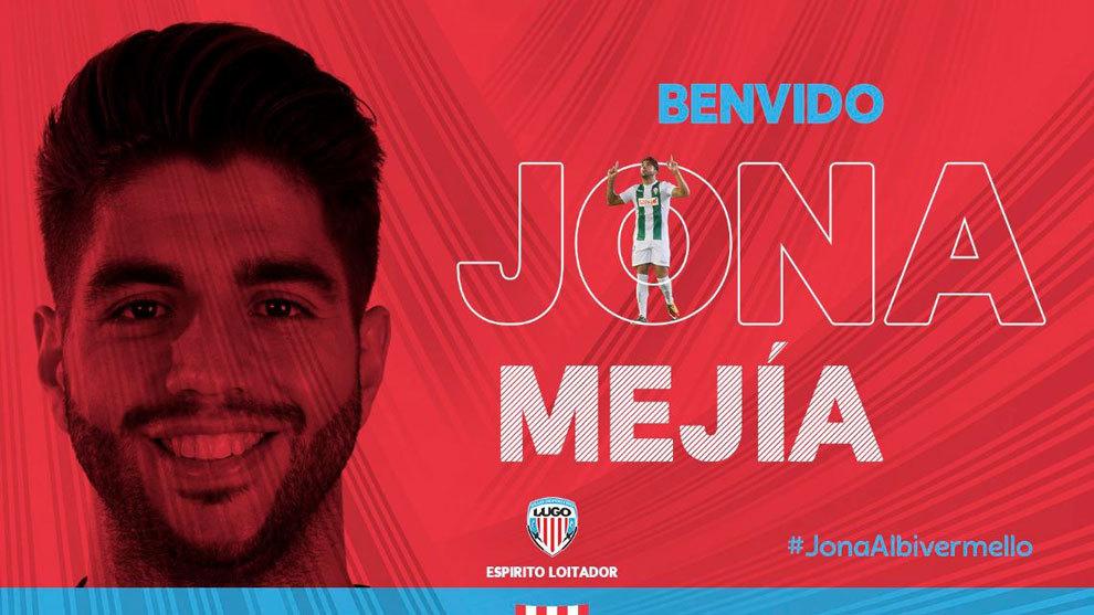 Foto oficial del Twitter del Club Deportivo Lugo