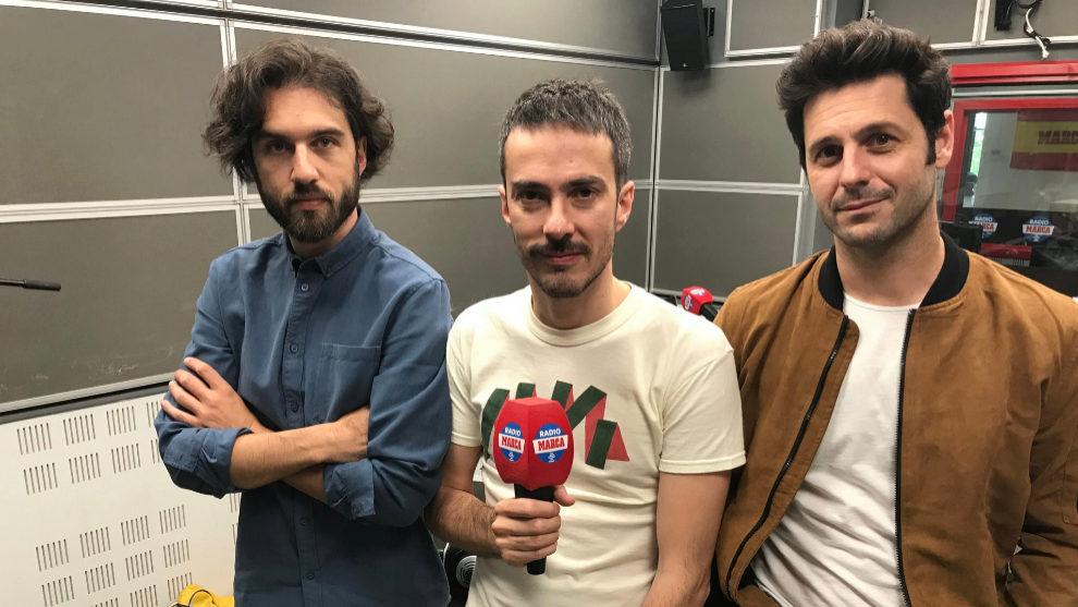 Vetusta Morla en los estudios de Radio MARCA.