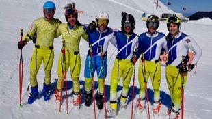 En Sierra Nevada los equipos de alpino de la RFEDI ya han empezado a...