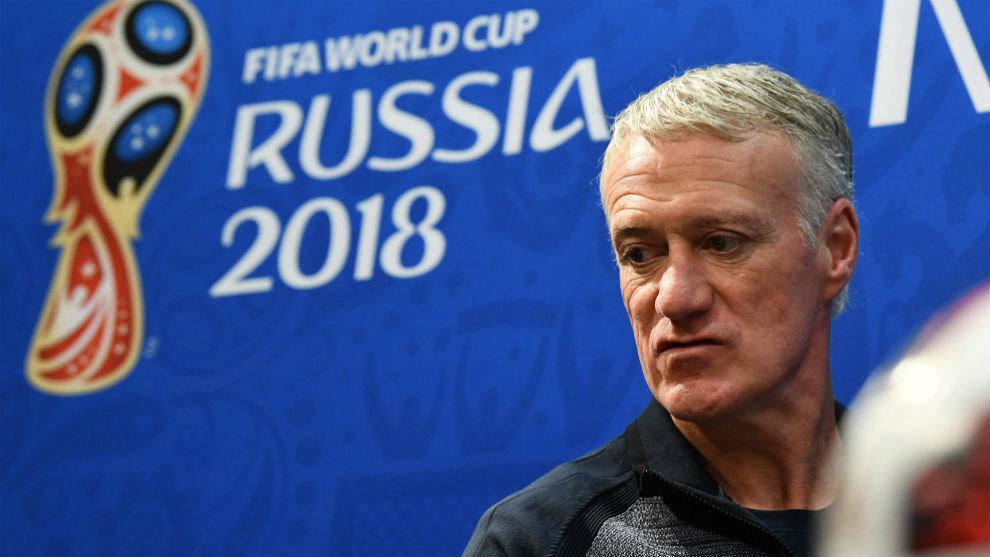 France's coach Didier Deschamps.