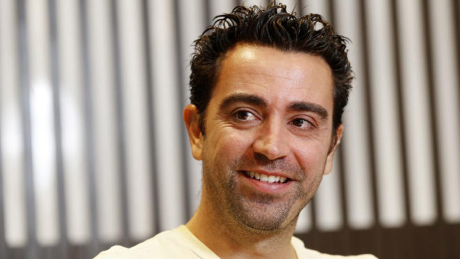 Xavi Hernandez rules out being a coach in the near future.