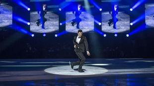 Javier Fernández, en  Revolution on Ice