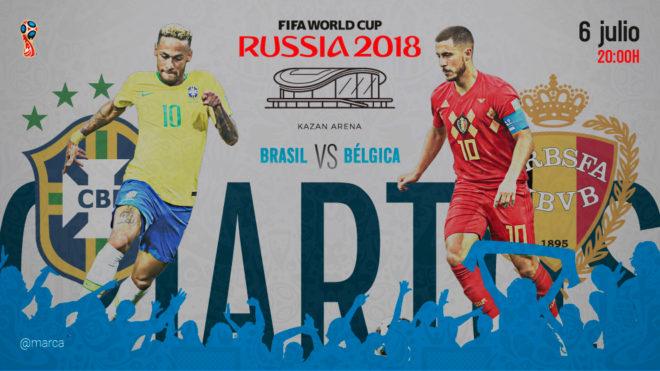 Bélgica sorprendió a Brasil y lo eliminó del Mundial — Muitas lágrimas