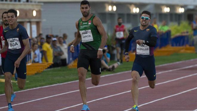 Óscar Husillos se impone a Samu García y Lucas Búa en los 200 de...