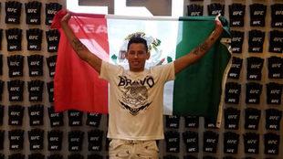 Martín Bravo ya en Las Vegas.