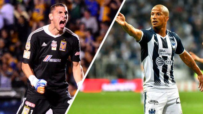 Dos de las figuras de Monterrey y Tigres son seguidos en Sudamérica.