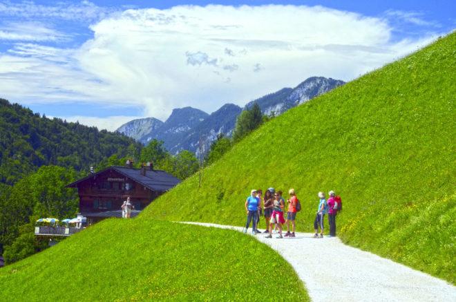 Desde Kufstein salen múltiples caminos 'ávidos' de ser explorados.