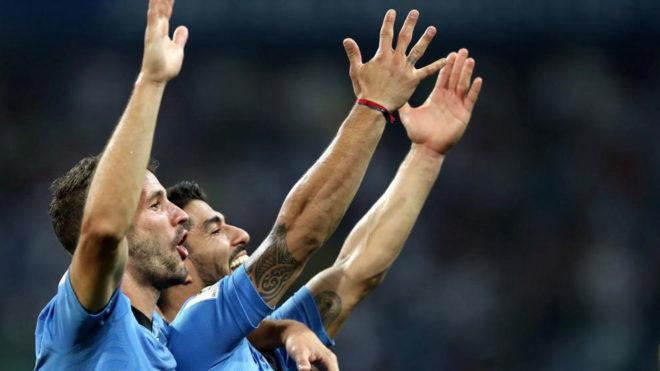 Alineaciones del Uruguay vs Francia: Stuani entra por Cavani en el...