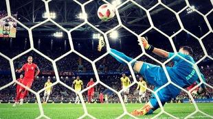 Harry Kane ha marcado seis goles en tres partidos con Inglaterra en el...