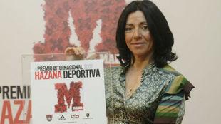 Rosa Fernández ganó en 2007 el Premio Internacional Hazaña...