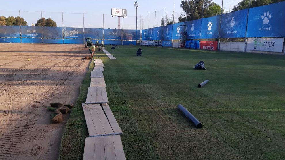 La Ciudad Deportiva, en obras