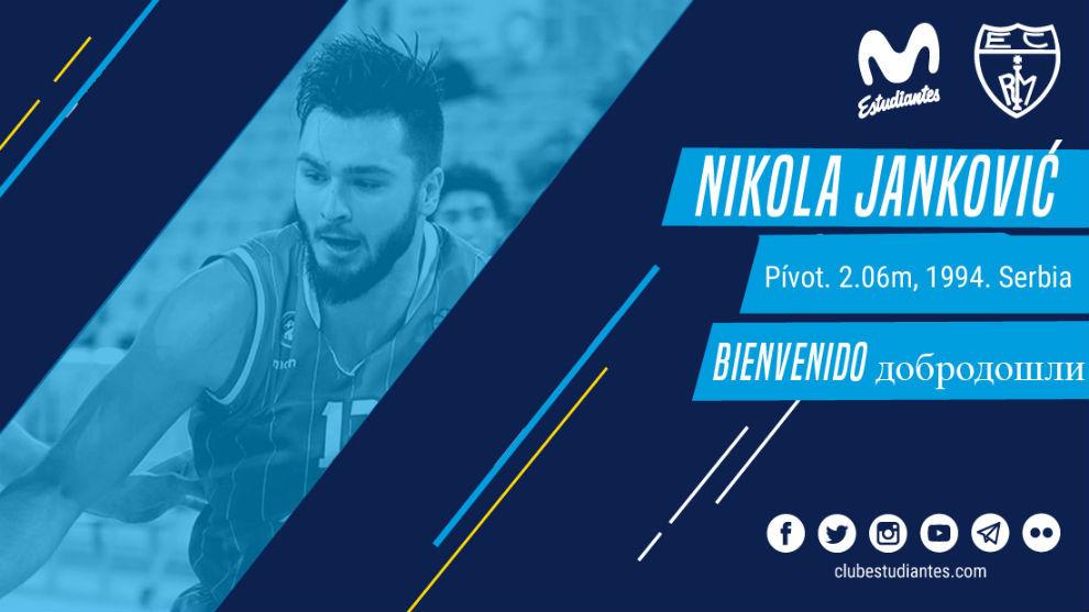 Así daba la bienvenida el Movistar Estudiantes a Nikola Jankovic, su...