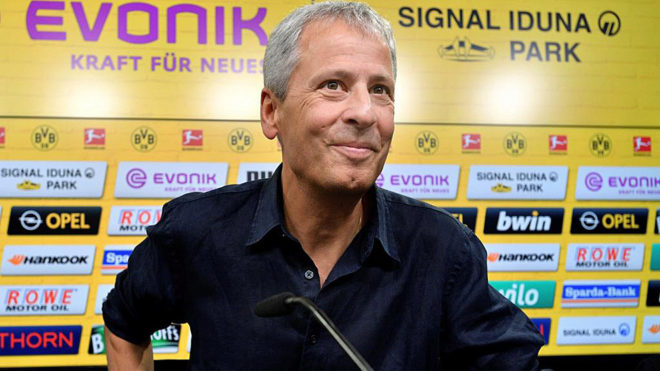 Lucien Favre was introduced on Friday.