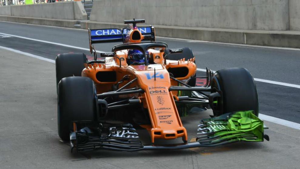GP Gran Bretaña F1 2018: Alonso apunta a la fábrica   Marca.com