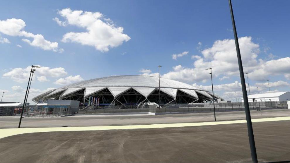 Estadio de Samara, sede del encuentro de cuartos de final del Mundial...