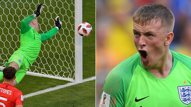 fifa world cup 2018 sweden vs england england s goalkeeper no