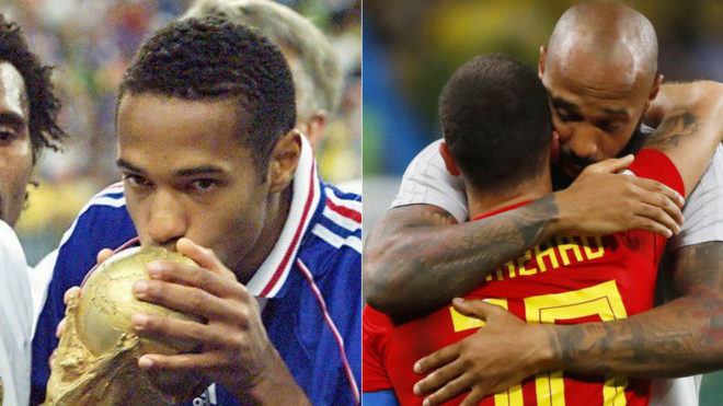 What Giroud Has Said About Thierry Henry Coaching Belgium Is Brilliant