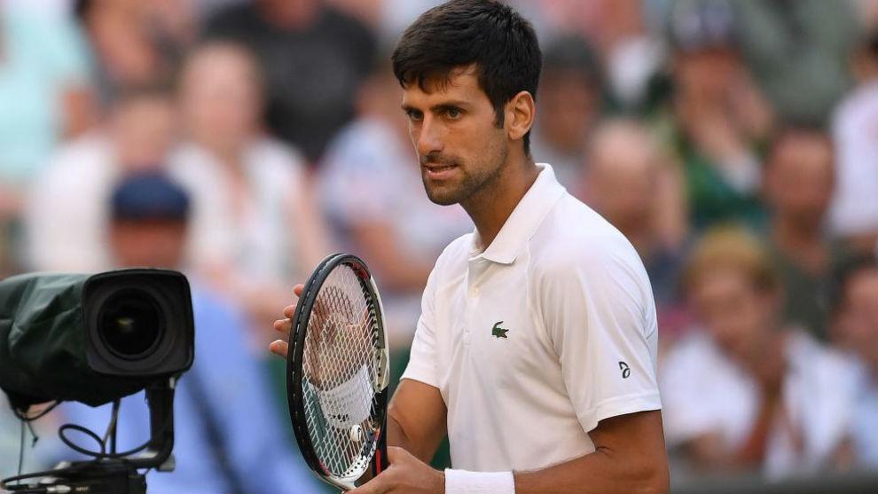 Djokovic muestra su rabia