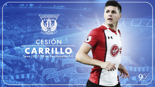 Guido Carrillo llega procedente del Southampton