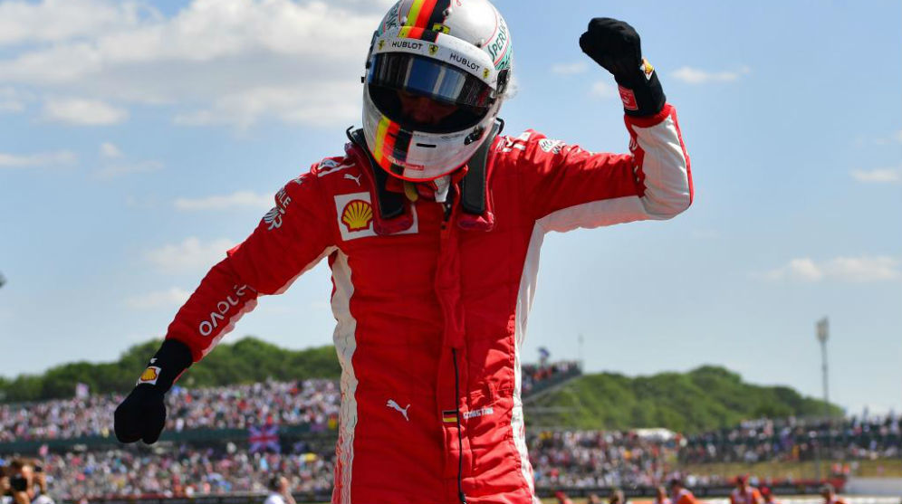 GP Gran Bretaña F1 2018: Vettel se lleva un triunfo grandioso ante ...