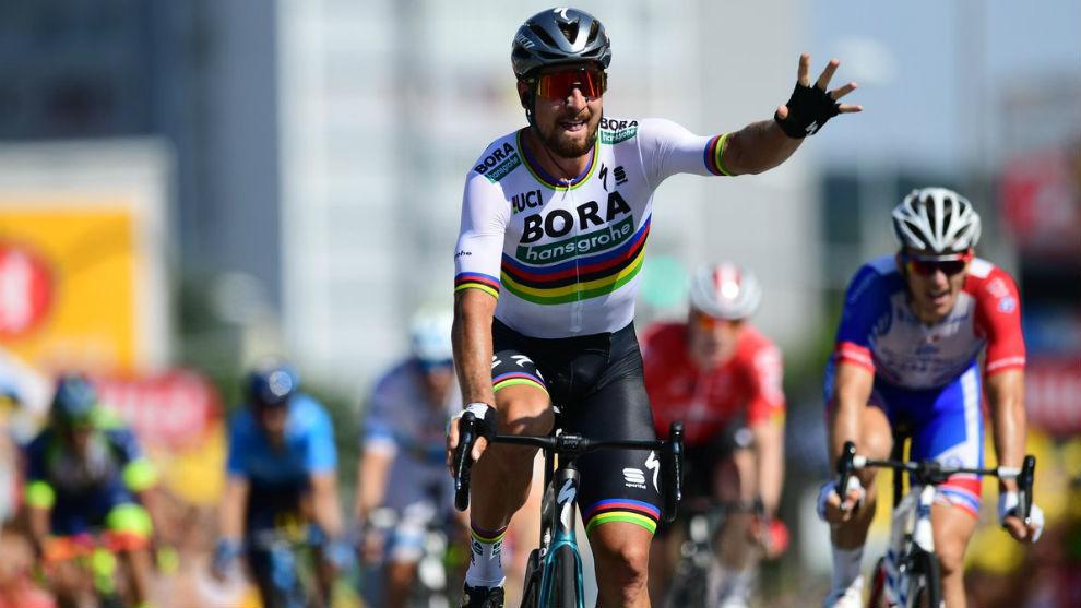 Resultat d'imatges de segunda etapa tour de francia 2018 final