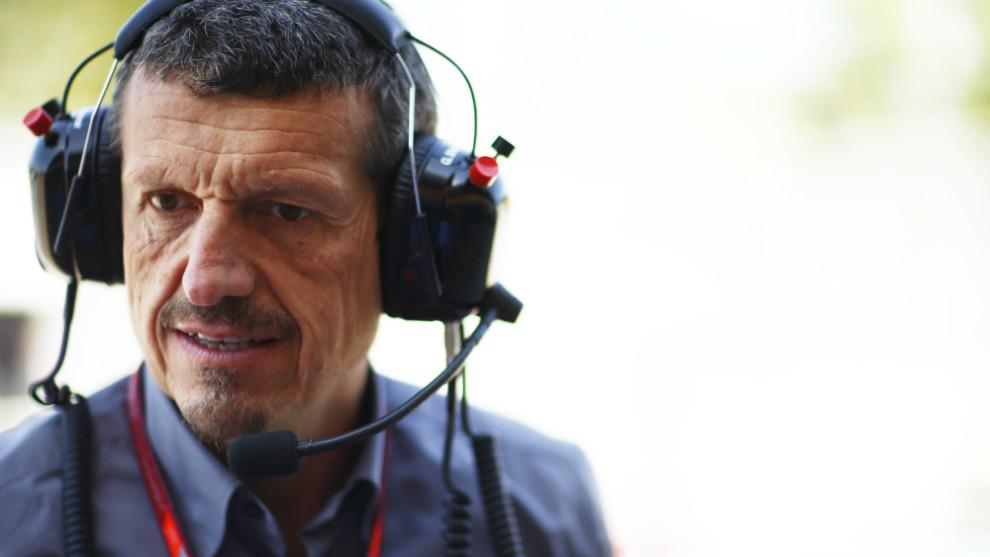Guenther Steiner, jefe del equipo Haas