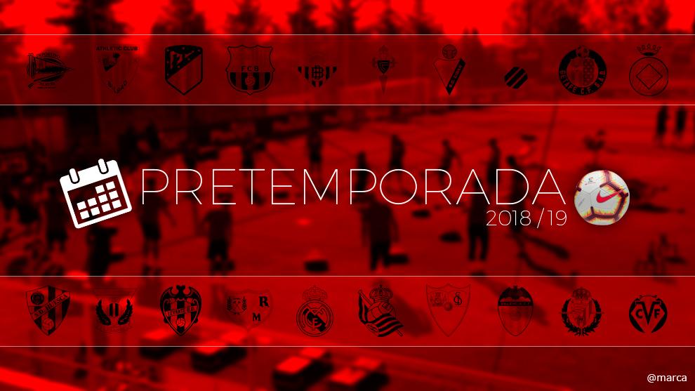 Primera División: Calendario de partidos de pretemporada de LaLiga...
