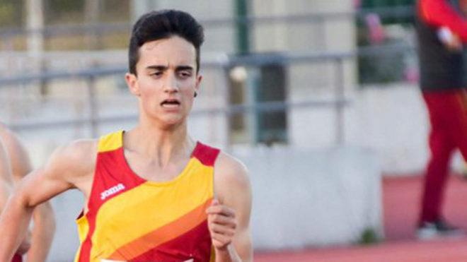 El atleta español Pol Oriach.